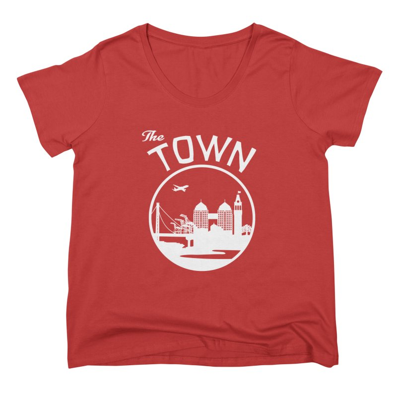 Oakland: The Town Women's Scoop Neck by The Artist Shop of Jason Martian