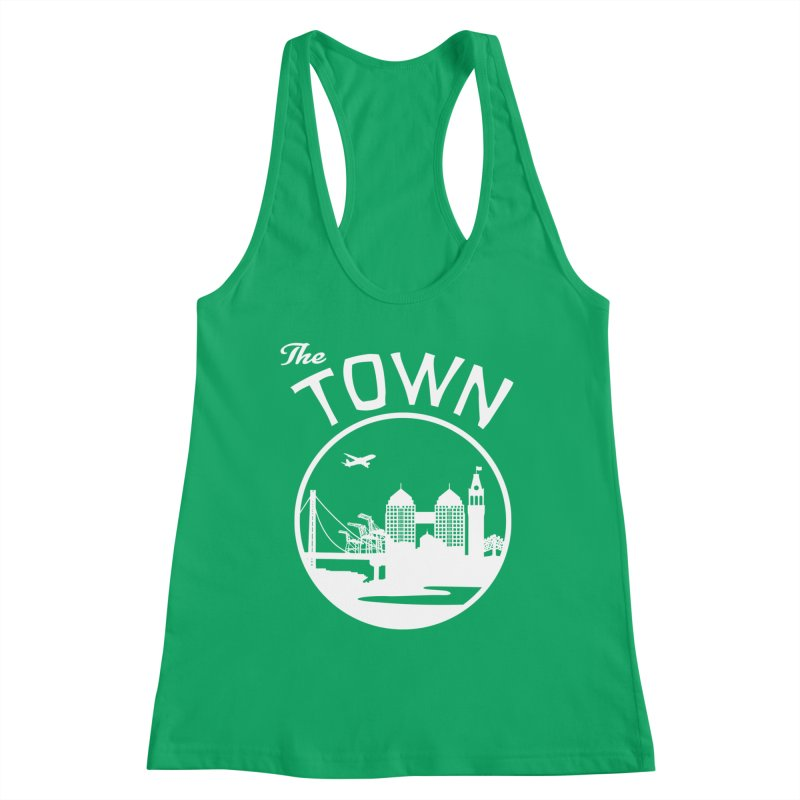 Oakland: The Town Women's Tank by The Artist Shop of Jason Martian