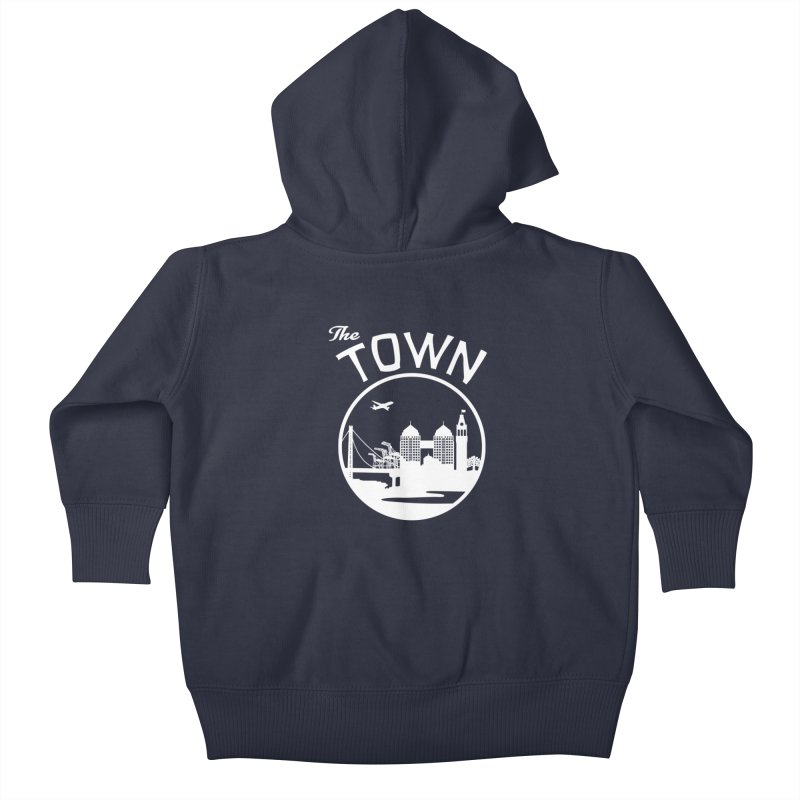 Oakland: The Town Kids Baby Zip-Up Hoody by The Artist Shop of Jason Martian