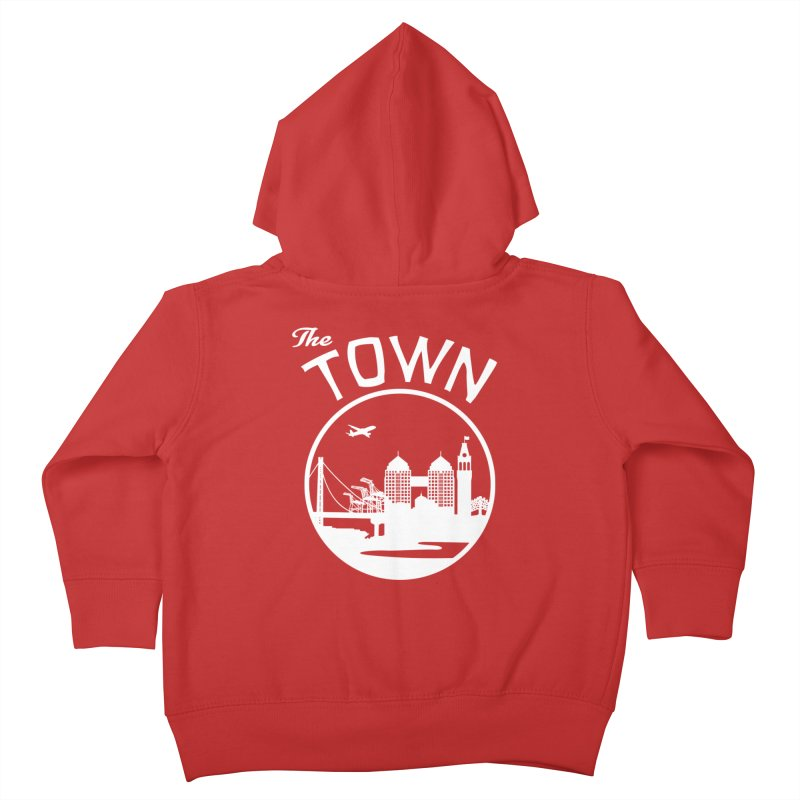 Oakland: The Town Kids Toddler Zip-Up Hoody by The Artist Shop of Jason Martian