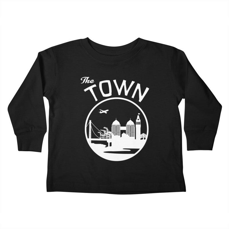 Oakland: The Town Kids Toddler Longsleeve T-Shirt by The Artist Shop of Jason Martian