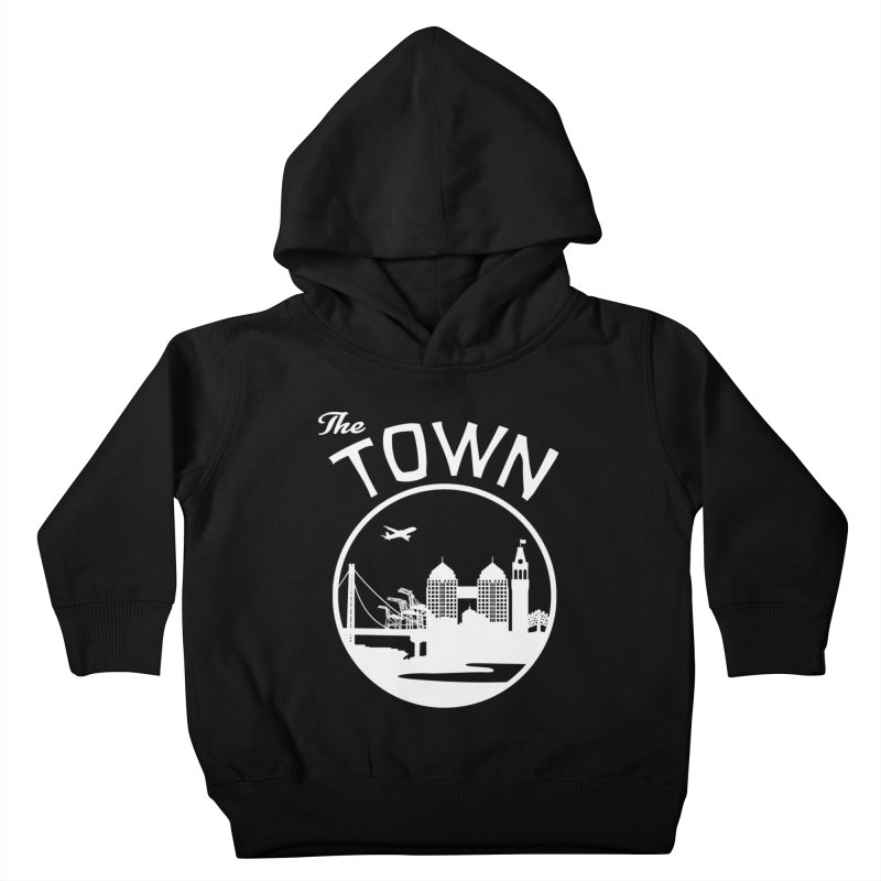 Oakland: The Town Kids Toddler Pullover Hoody by The Artist Shop of Jason Martian