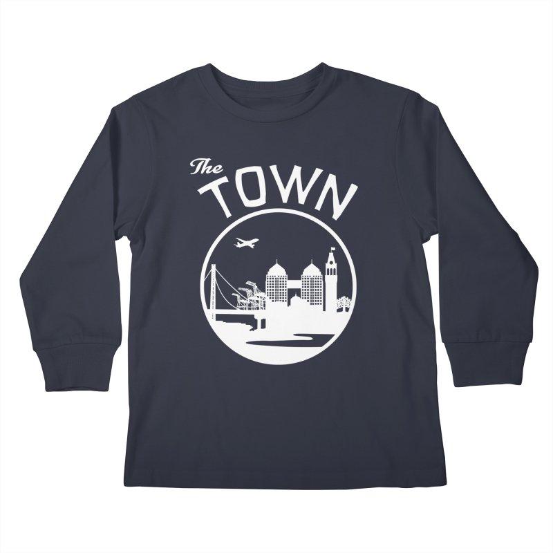 Oakland: The Town Kids Longsleeve T-Shirt by The Artist Shop of Jason Martian