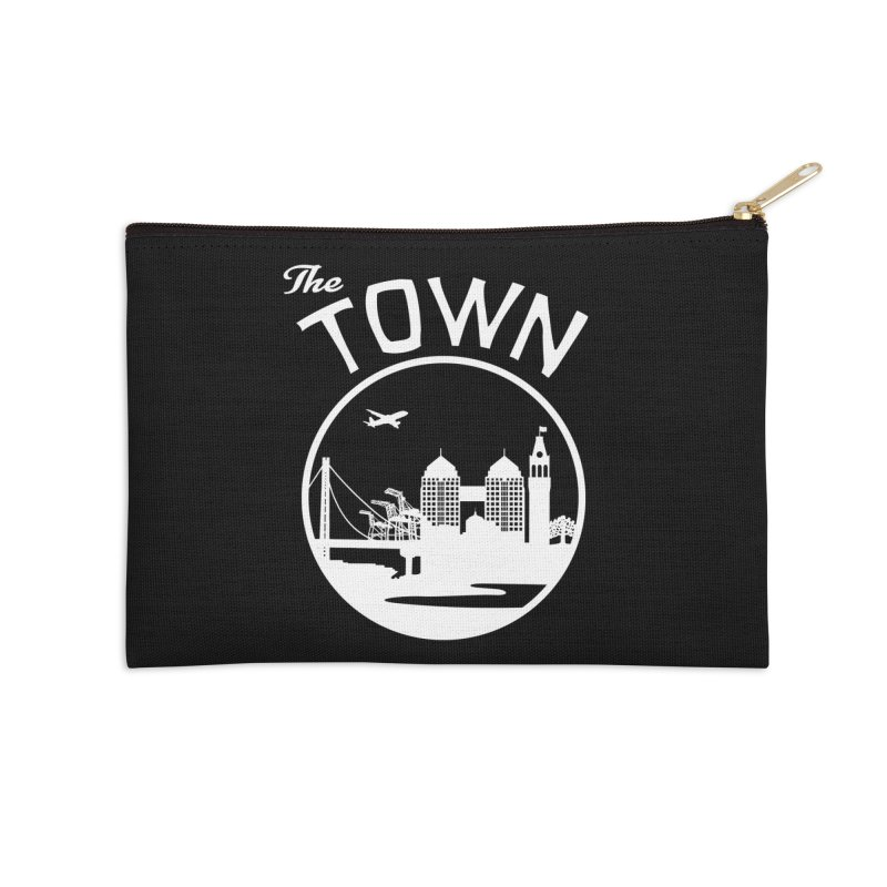 Oakland: The Town Accessories Zip Pouch by The Artist Shop of Jason Martian