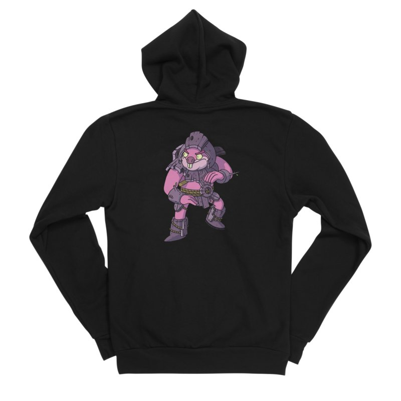 Berbil - Protector of the Cage and Stream Men's Zip-Up Hoody by jasonmayart's Artist Shop