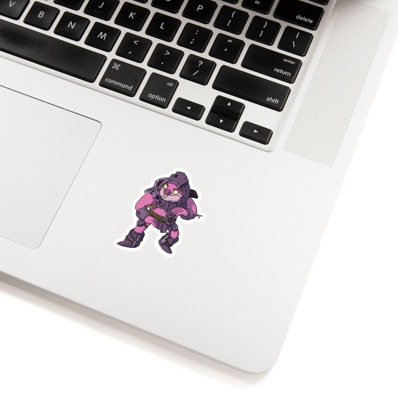 Berbil - Protector of the Cage and Stream Accessories Sticker by jasonmayart's Artist Shop