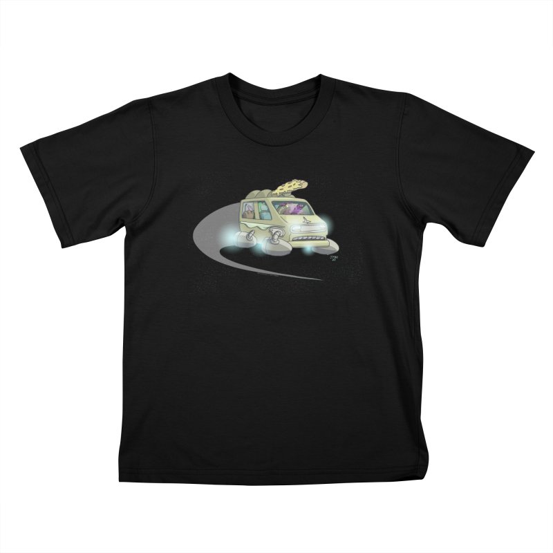 Special Terrestrial Deliver! (without galaxy background) Kids T-Shirt by jasonmayart's Artist Shop