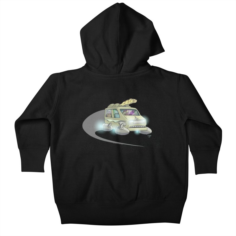 Special Terrestrial Deliver! (without galaxy background) Kids Baby Zip-Up Hoody by jasonmayart's Artist Shop