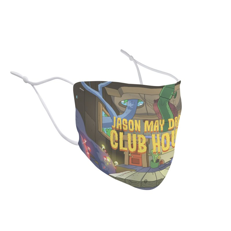 Jason May Draw Club House Logo T Accessories Face Mask by jasonmayart's Artist Shop