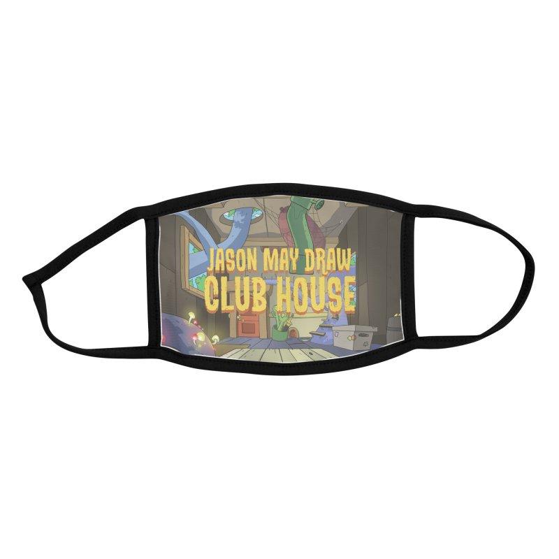 Jason May Draw Club House Logo T Accessories Face Mask by jasonmayart's Artist Shop