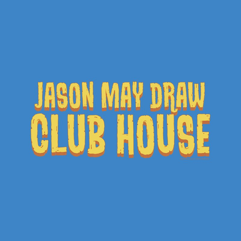 Jason May Draw Club House Logo T Accessories Zip Pouch by jasonmayart's Artist Shop