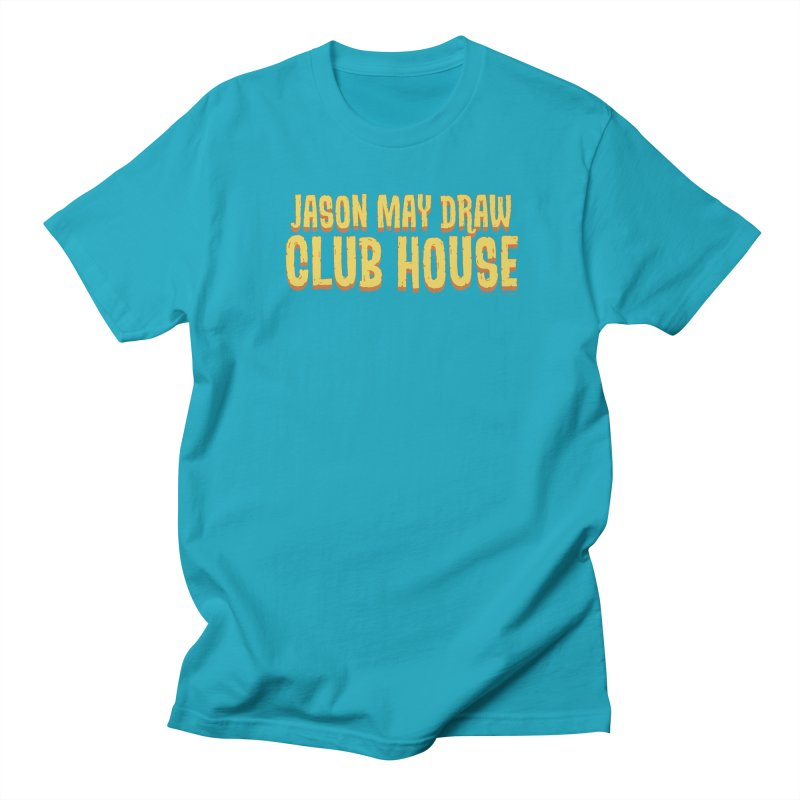 Jason May Draw Club House Logo T Men's T-Shirt by jasonmayart's Artist Shop