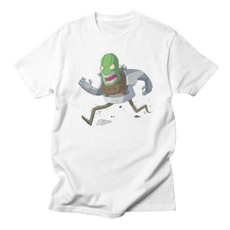 When Houseplants Attack! - Attack Cactus Men's T-Shirt by jasonmayart's Artist Shop