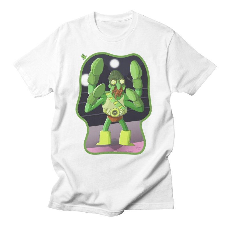 Crabby Cthulu Wrestler Men's T-Shirt by jasonmayart's Artist Shop