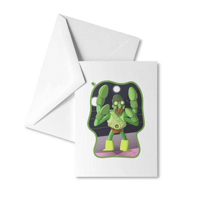 Crabby Cthulu Wrestler Accessories Greeting Card by jasonmayart's Artist Shop