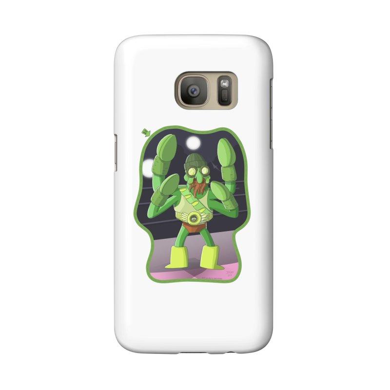 Crabby Cthulu Wrestler Accessories Phone Case by jasonmayart's Artist Shop