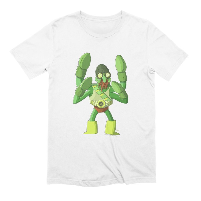 Crabby Cthulu Wrestler Men's T-Shirt by jasonmayart's Artist Shop