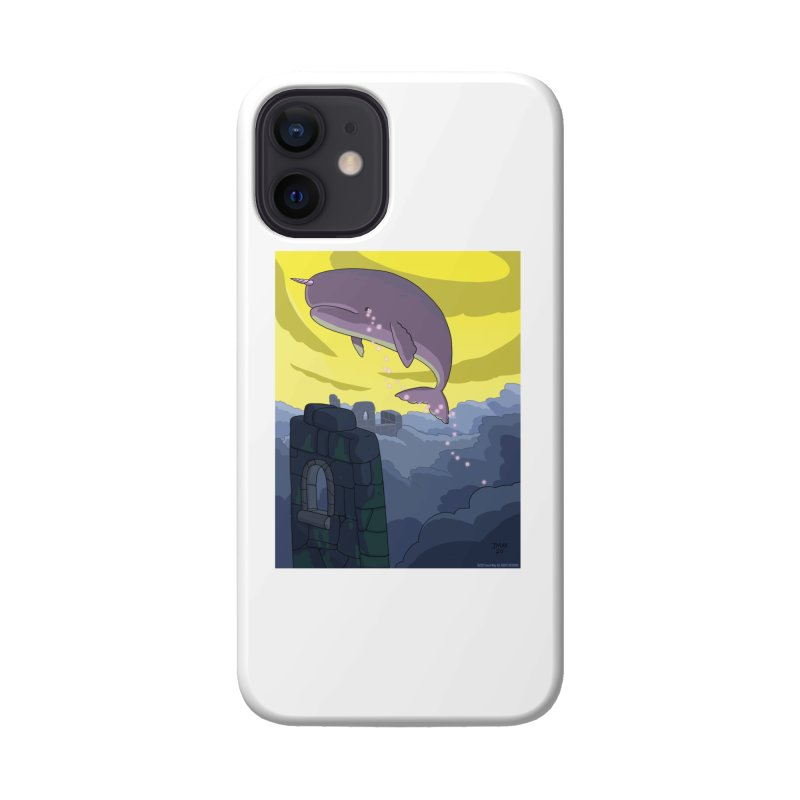Enchanted Whale Crying Flowers Accessories Phone Case by jasonmayart's Artist Shop