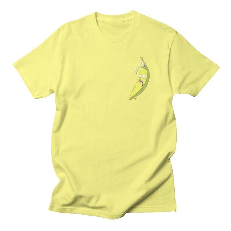 Frightened Banana Men's T-Shirt by jasonmayart's Artist Shop