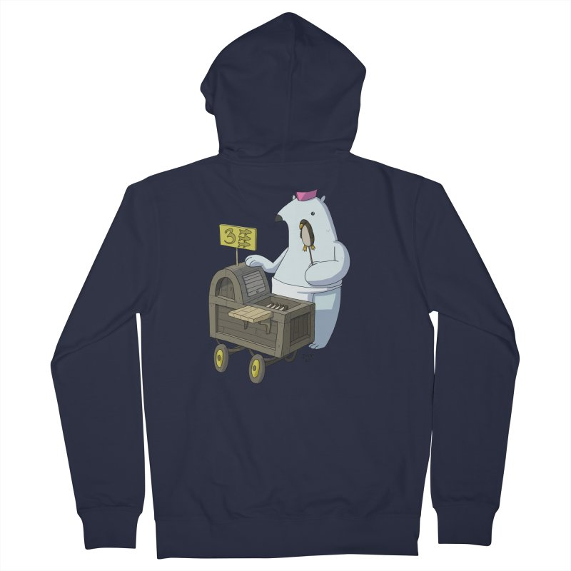 Bob's Penguin Pops! - Ice Ice Maybe Women's Zip-Up Hoody by jasonmayart's Artist Shop