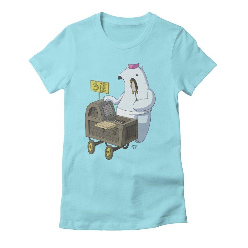 Bob's Penguin Pops! - Ice Ice Maybe Women's T-Shirt by jasonmayart's Artist Shop