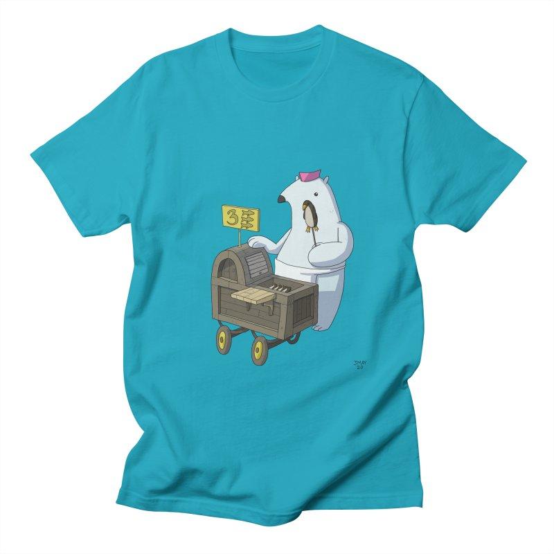 Bob's Penguin Pops! - Ice Ice Maybe Men's T-Shirt by jasonmayart's Artist Shop