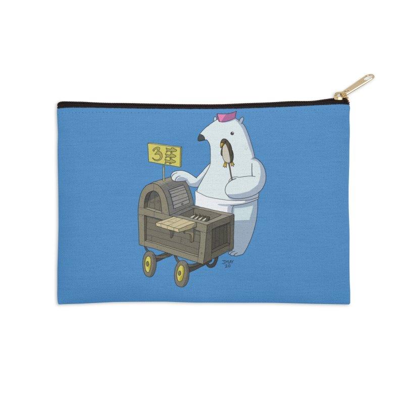 Bob's Penguin Pops! - Ice Ice Maybe Accessories Zip Pouch by jasonmayart's Artist Shop