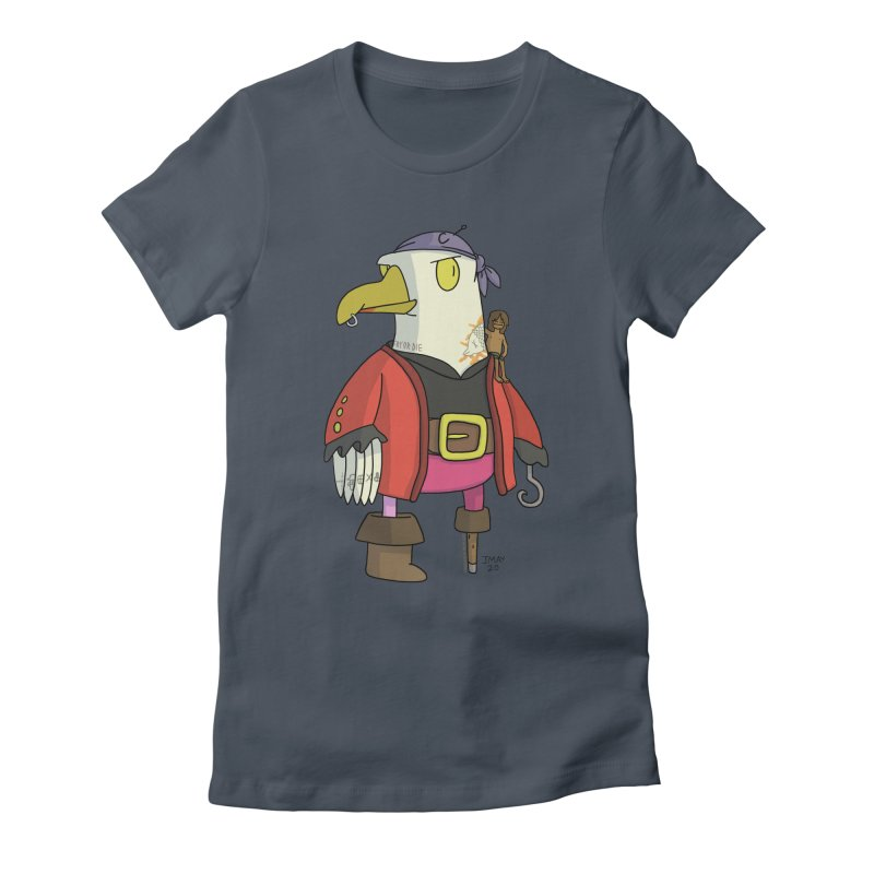 Swashbuckling Seagull Women's T-Shirt by jasonmayart's Artist Shop