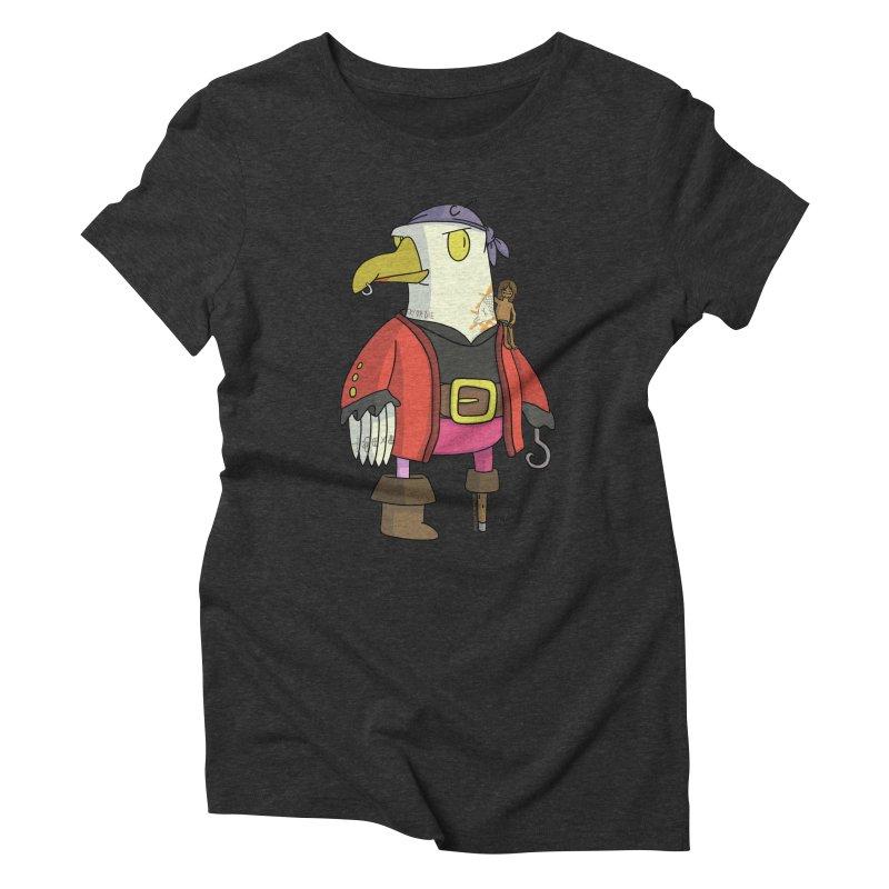 Swashbuckling Seagull Women's T-Shirt by jasonmayart's Artist Shop