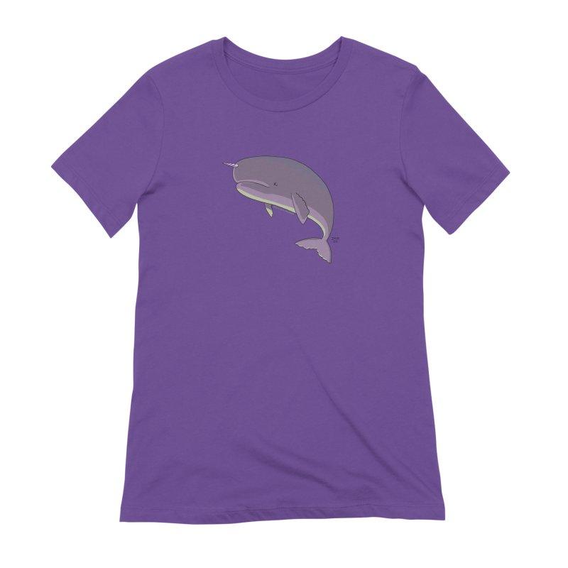Just The Enchanted Whale! Women's T-Shirt by jasonmayart's Artist Shop