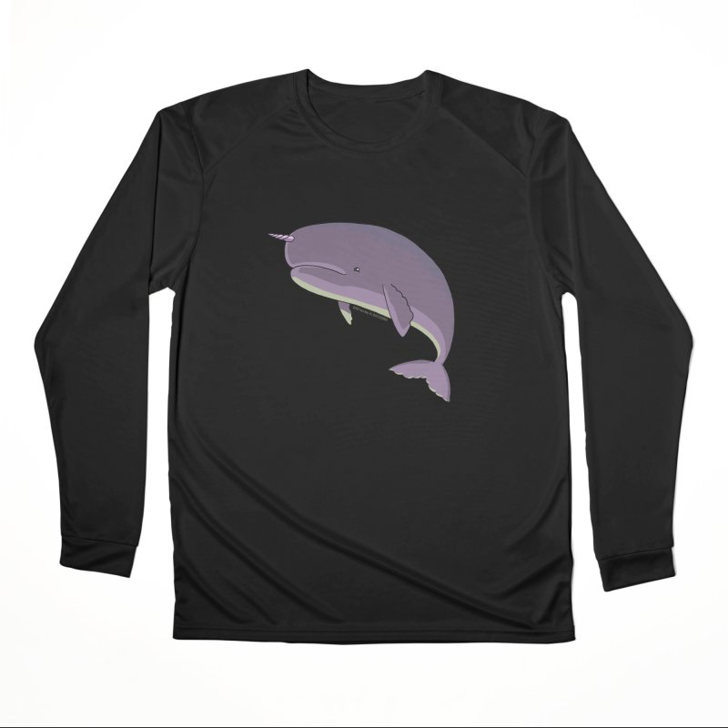 Just The Enchanted Whale! Women's Longsleeve T-Shirt by jasonmayart's Artist Shop
