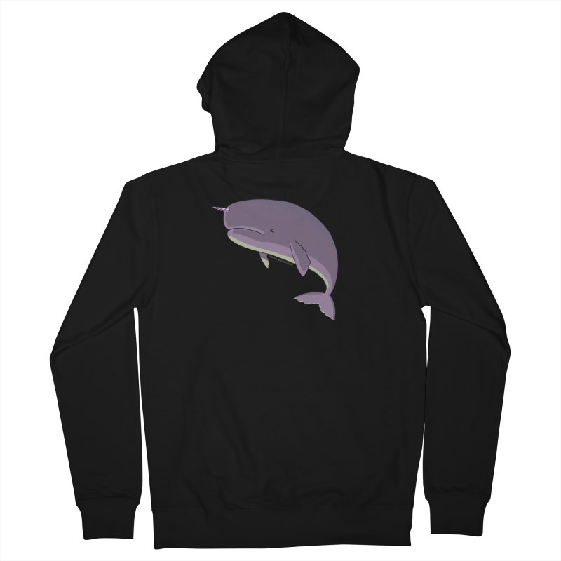 Just The Enchanted Whale! Men's Zip-Up Hoody by jasonmayart's Artist Shop