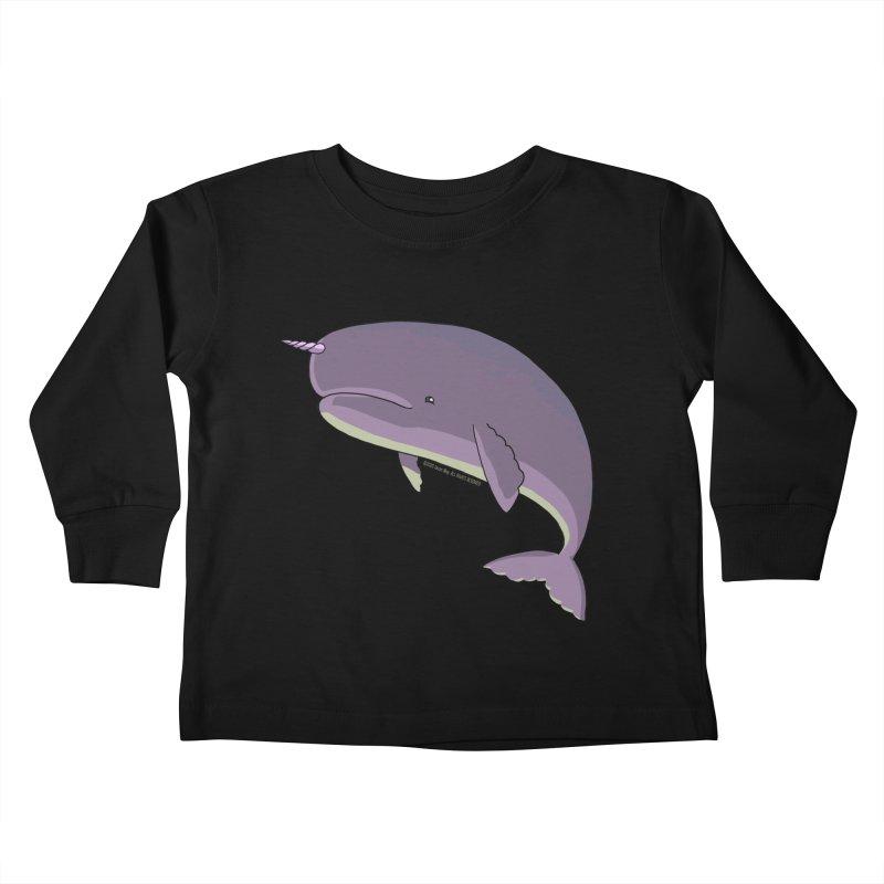 Just The Enchanted Whale! Kids Toddler Longsleeve T-Shirt by jasonmayart's Artist Shop