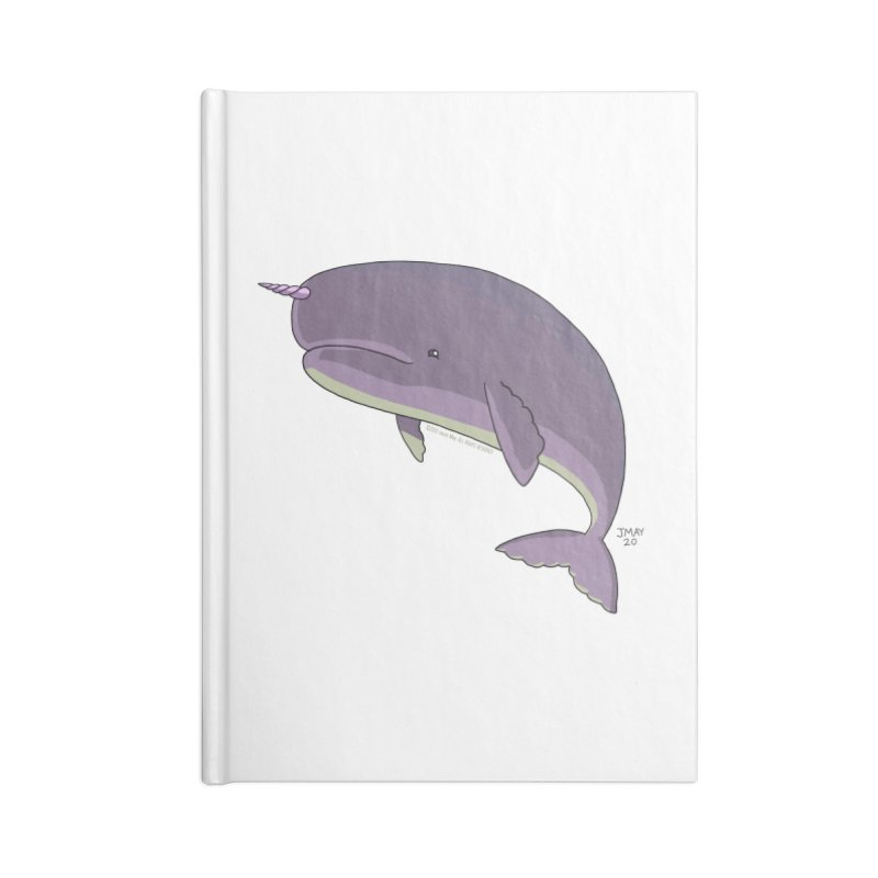 Just The Enchanted Whale! Accessories Notebook by jasonmayart's Artist Shop