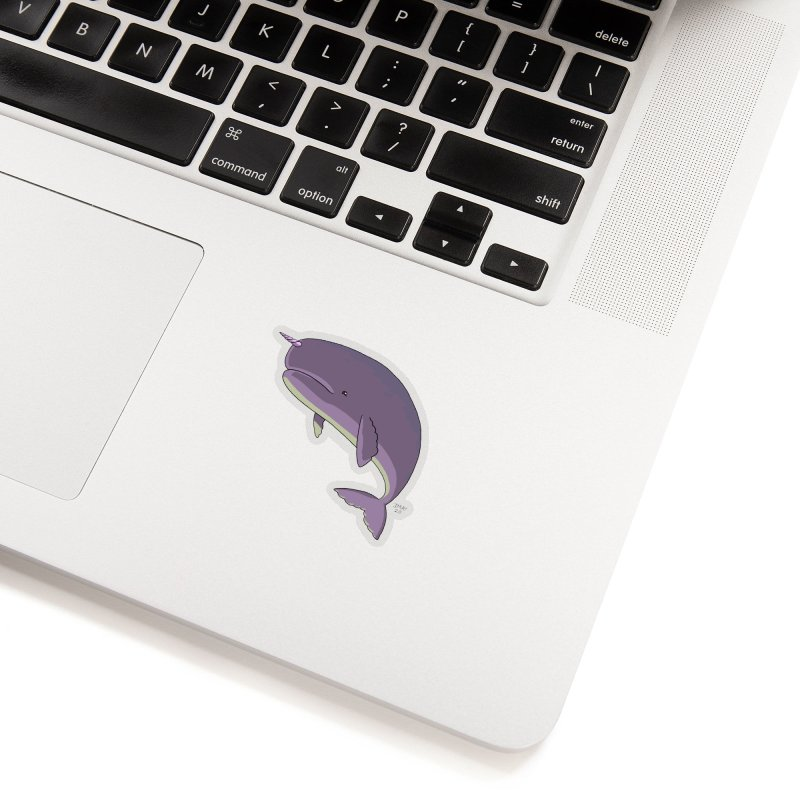 Just The Enchanted Whale! Accessories Sticker by jasonmayart's Artist Shop