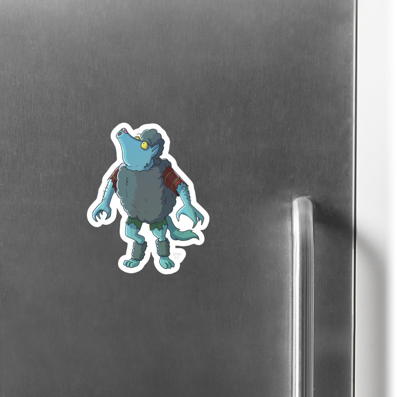 Werewolf in Sheep's Clothing Accessories Magnet by jasonmayart's Artist Shop