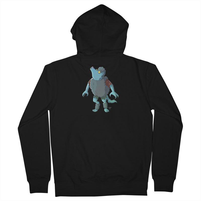 Werewolf in Sheep's Clothing Men's Zip-Up Hoody by jasonmayart's Artist Shop