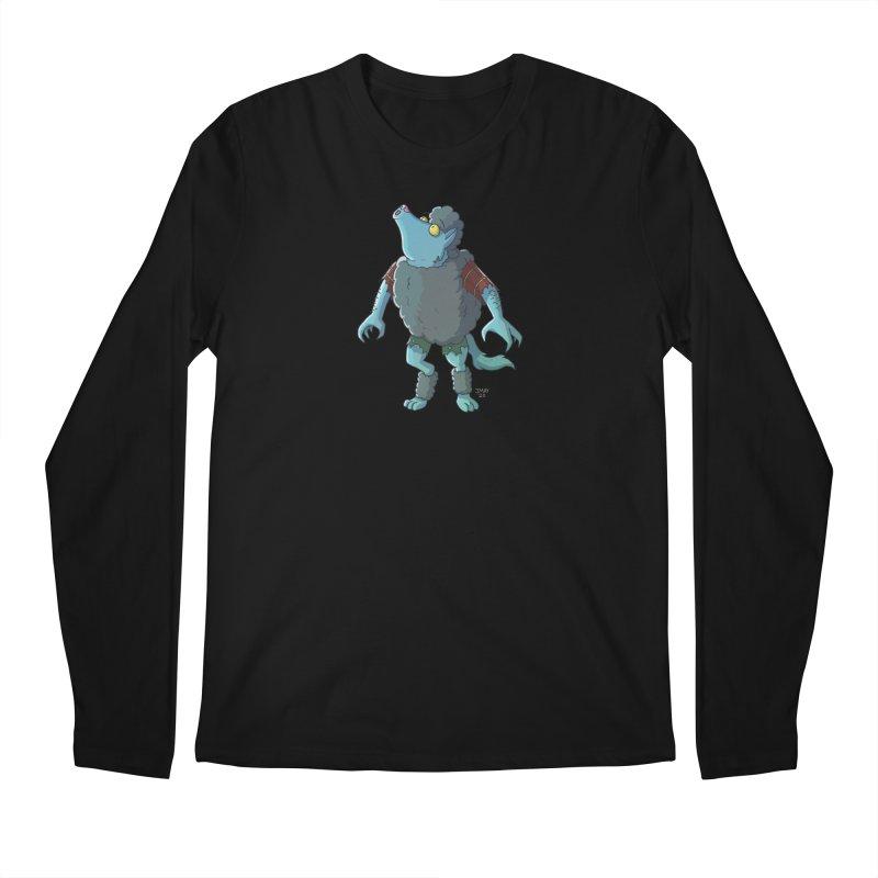 Werewolf in Sheep's Clothing Men's Longsleeve T-Shirt by jasonmayart's Artist Shop