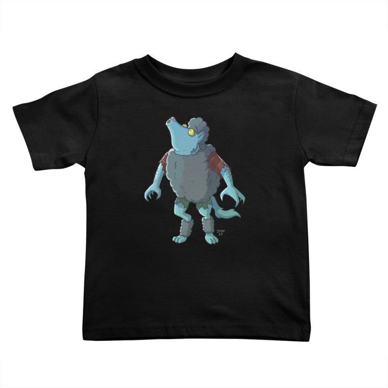 Werewolf in Sheep's Clothing Kids Toddler T-Shirt by jasonmayart's Artist Shop