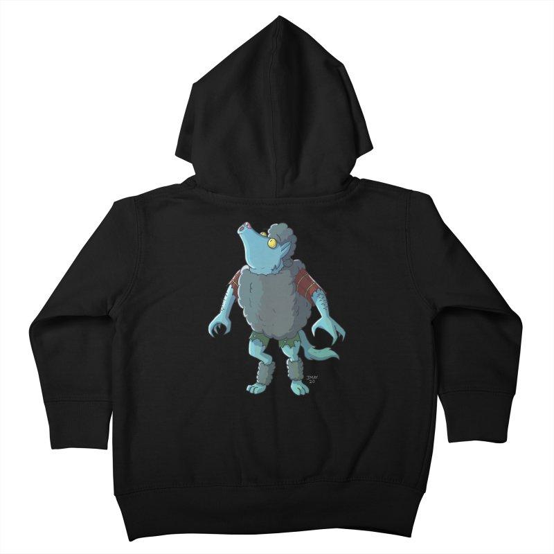Werewolf in Sheep's Clothing Kids Toddler Zip-Up Hoody by jasonmayart's Artist Shop