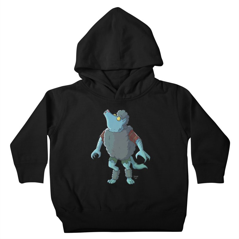 Werewolf in Sheep's Clothing Kids Toddler Pullover Hoody by jasonmayart's Artist Shop