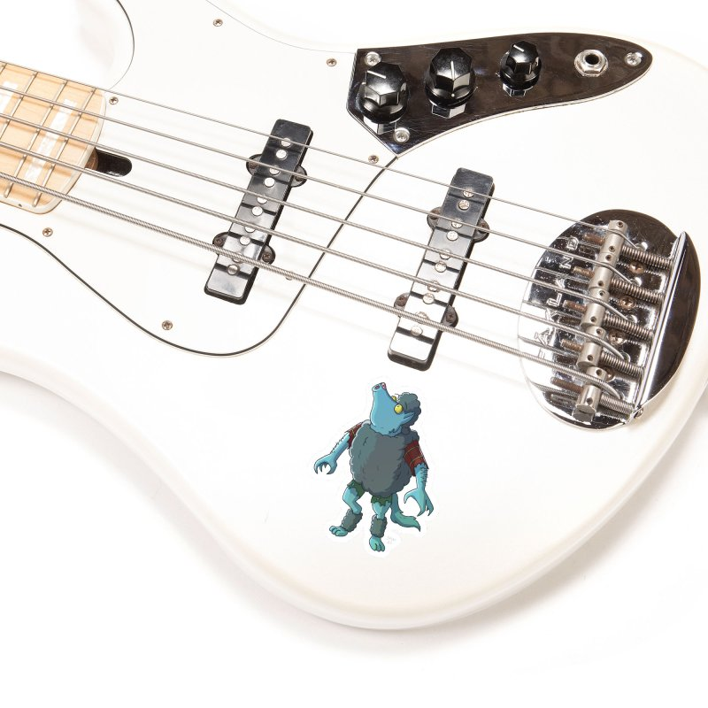 Werewolf in Sheep's Clothing Accessories Sticker by jasonmayart's Artist Shop