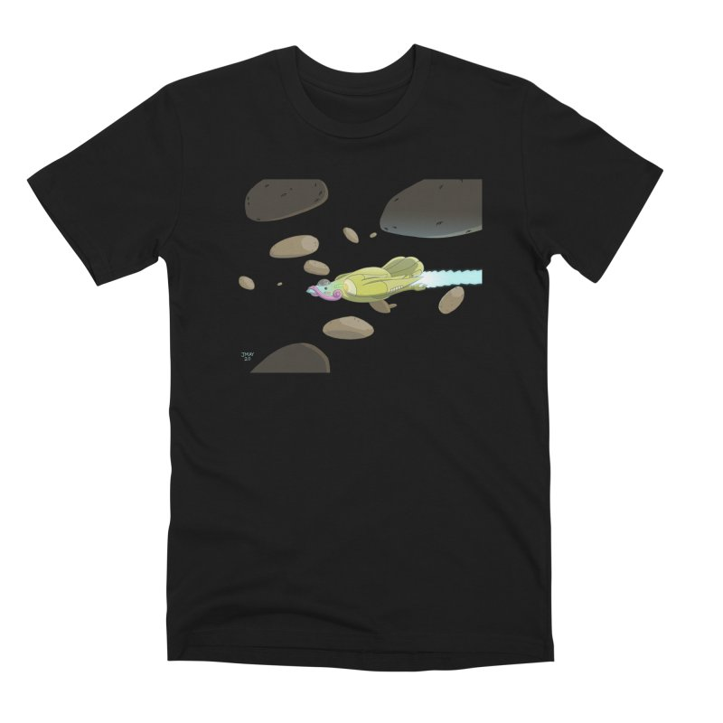 Turkey Rocket Men's T-Shirt by jasonmayart's Artist Shop