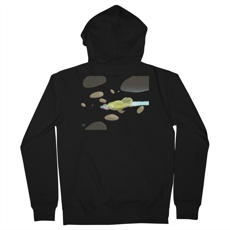 Turkey Rocket Men's Zip-Up Hoody by jasonmayart's Artist Shop