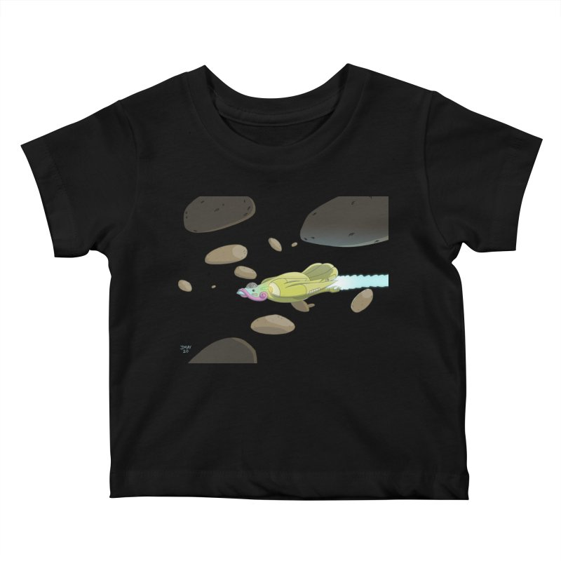 Turkey Rocket Kids Baby T-Shirt by jasonmayart's Artist Shop
