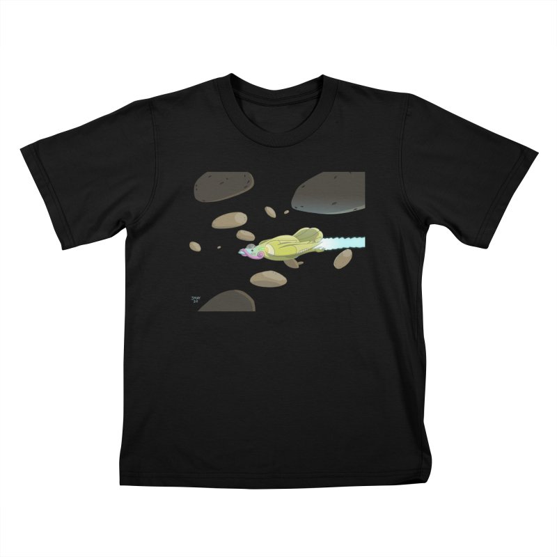 Turkey Rocket Kids T-Shirt by jasonmayart's Artist Shop