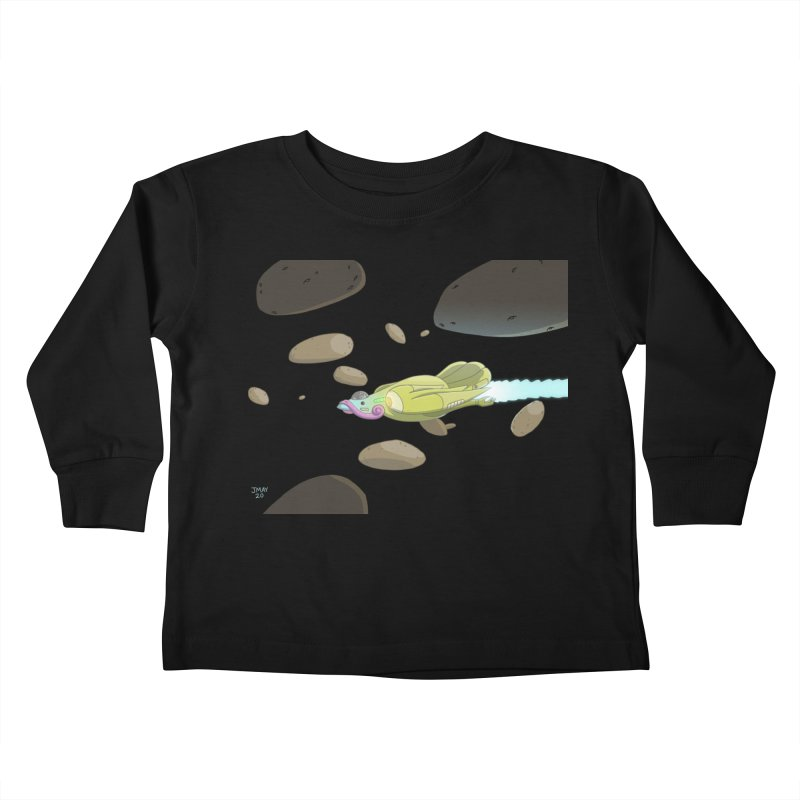 Turkey Rocket Kids Toddler Longsleeve T-Shirt by jasonmayart's Artist Shop