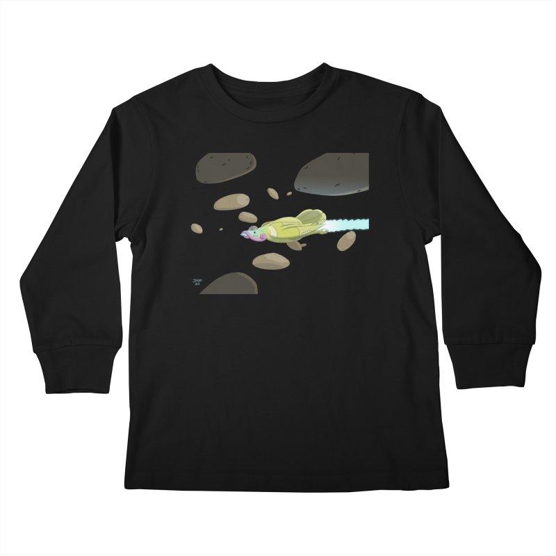 Turkey Rocket Kids Longsleeve T-Shirt by jasonmayart's Artist Shop