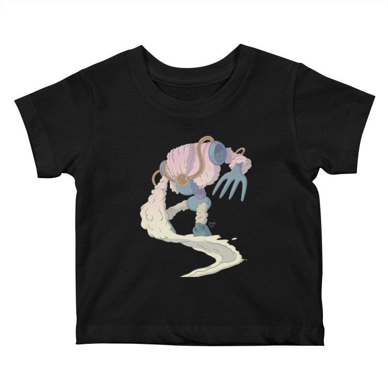 Mashed Potato Mech! Kids Baby T-Shirt by jasonmayart's Artist Shop