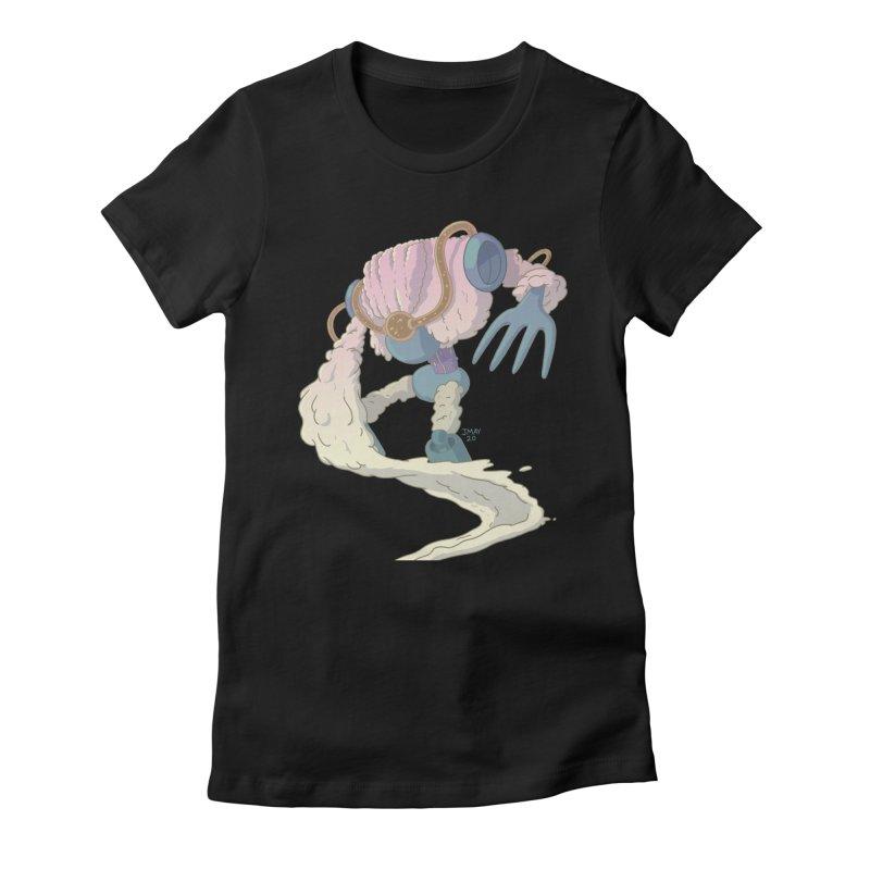 Mashed Potato Mech! Women's T-Shirt by jasonmayart's Artist Shop